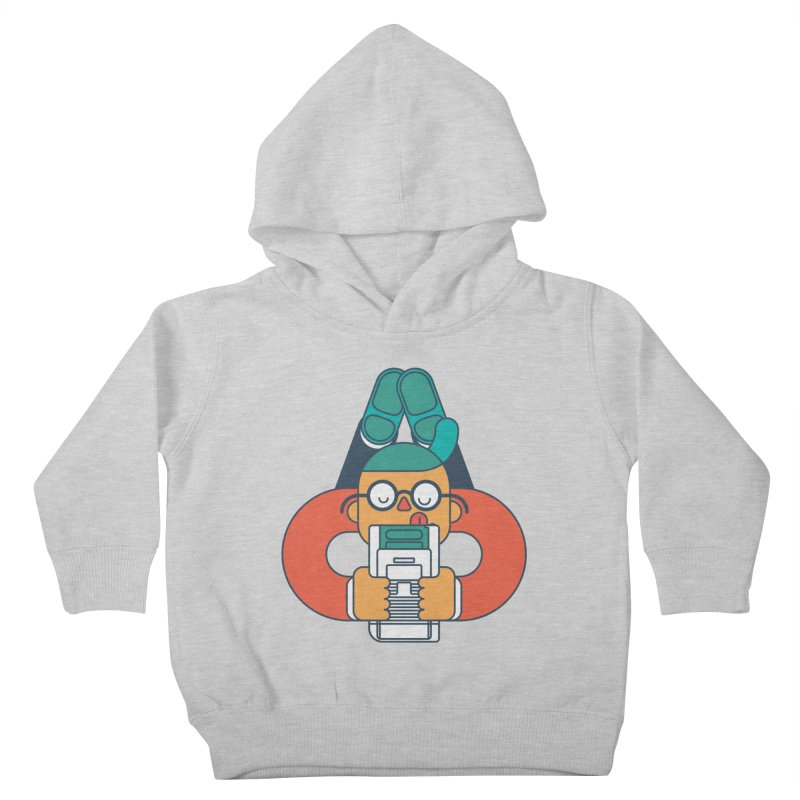 Gameboy Kids Toddler Pullover Hoody by Emporio de Mutanthands