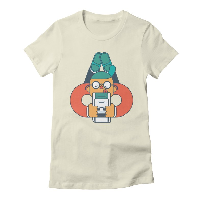 Gameboy Women's Fitted T-Shirt by Emporio de Mutanthands
