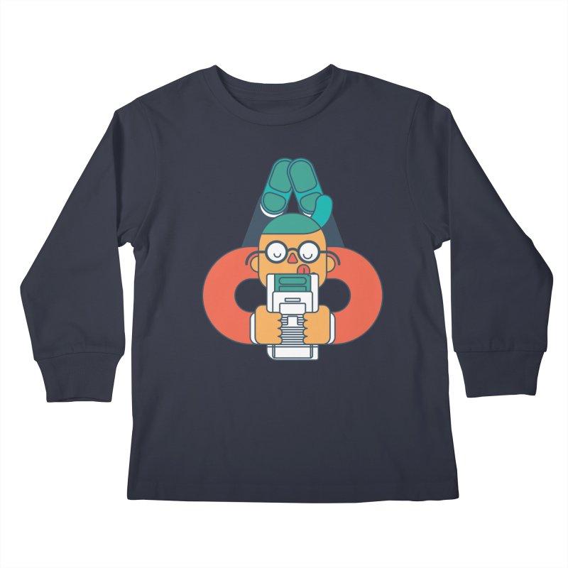 Gameboy Kids Longsleeve T-Shirt by Emporio de Mutanthands