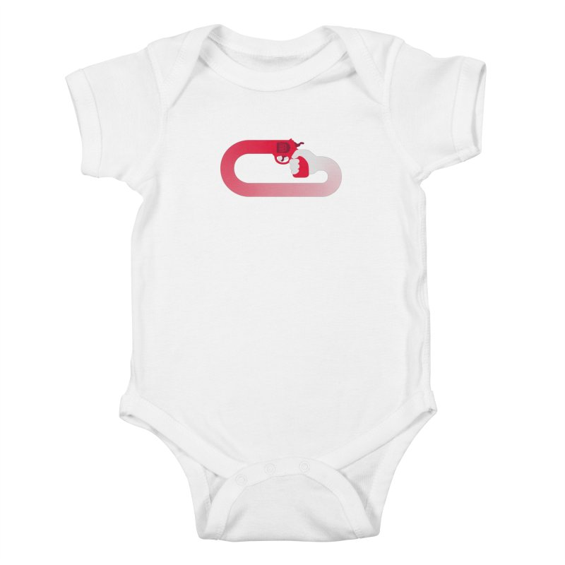 HandGun Kids Baby Bodysuit by Emporio de Mutanthands