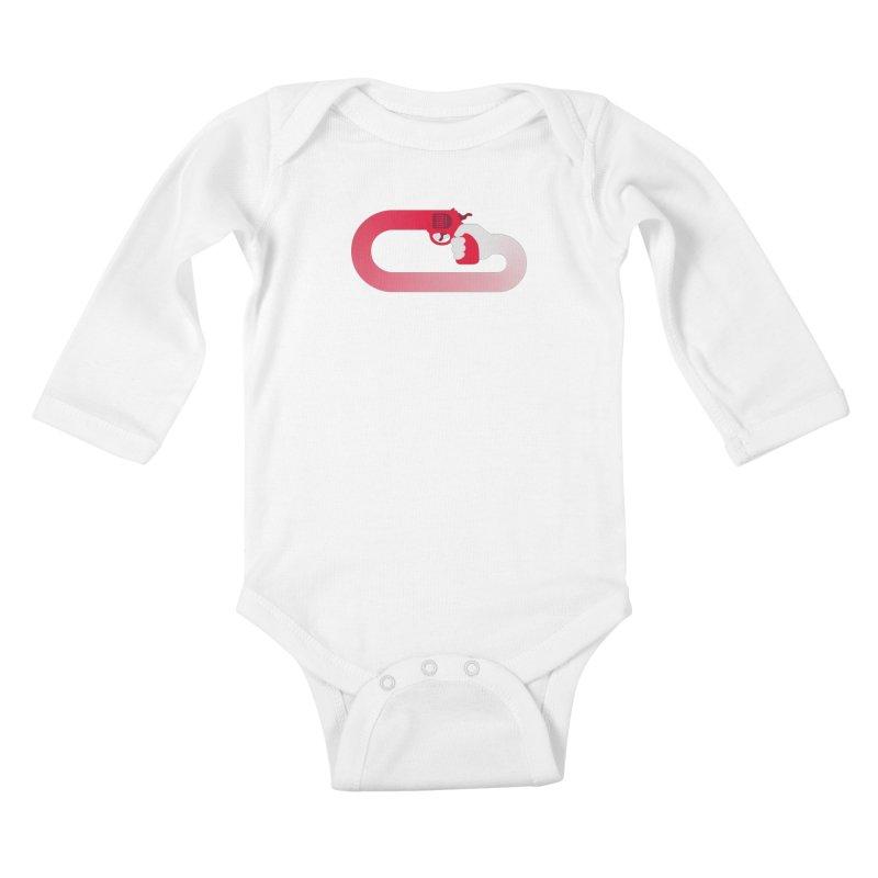 HandGun Kids Baby Longsleeve Bodysuit by Emporio de Mutanthands
