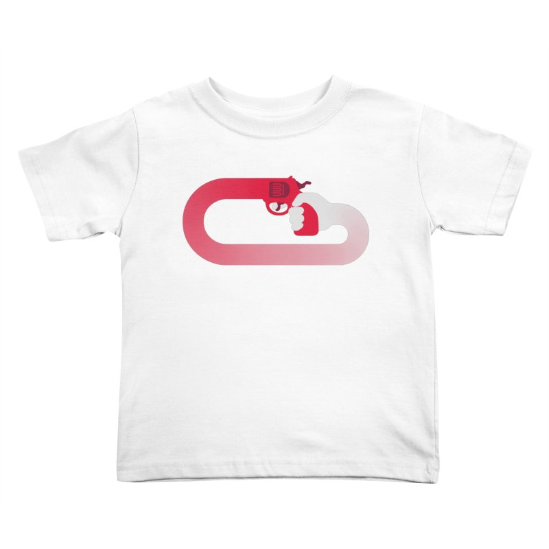HandGun Kids Toddler T-Shirt by Emporio de Mutanthands