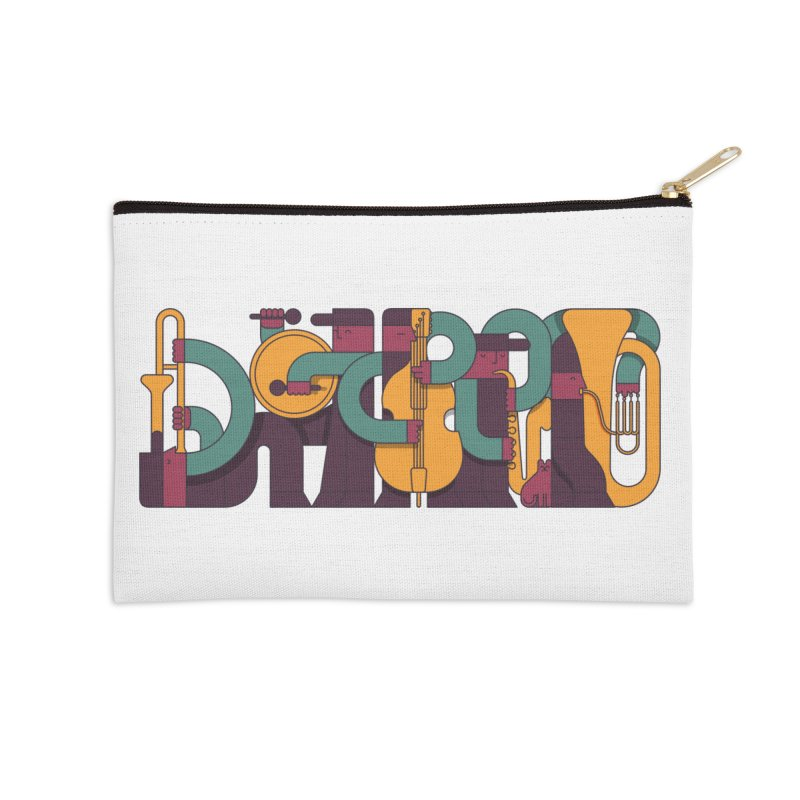 Jazzmatazz Accessories Zip Pouch by Emporio de Mutanthands