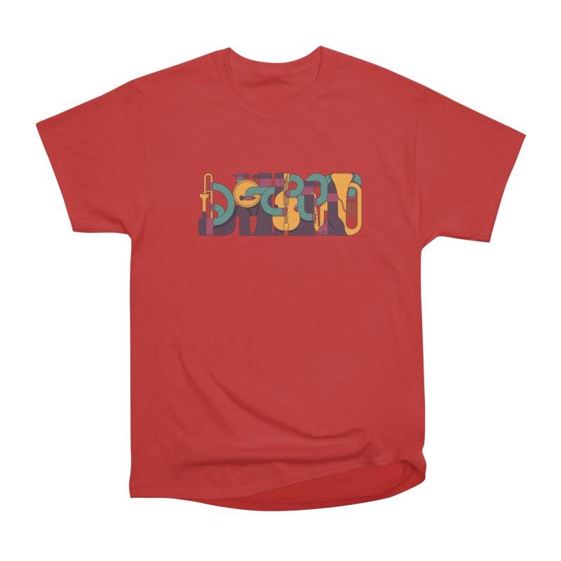 Jazzmatazz Men's Heavyweight T-Shirt by Emporio de Mutanthands