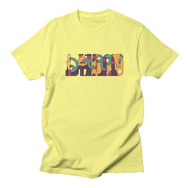 Jazzmatazz Women's Regular Unisex T-Shirt by Emporio de Mutanthands