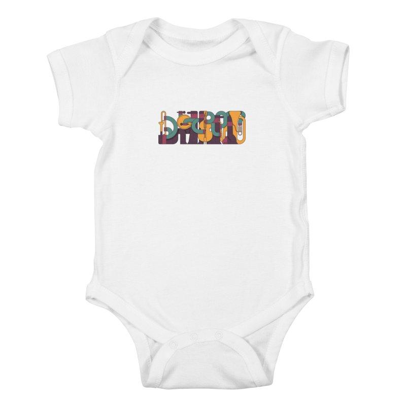 Jazzmatazz Kids Baby Bodysuit by Emporio de Mutanthands