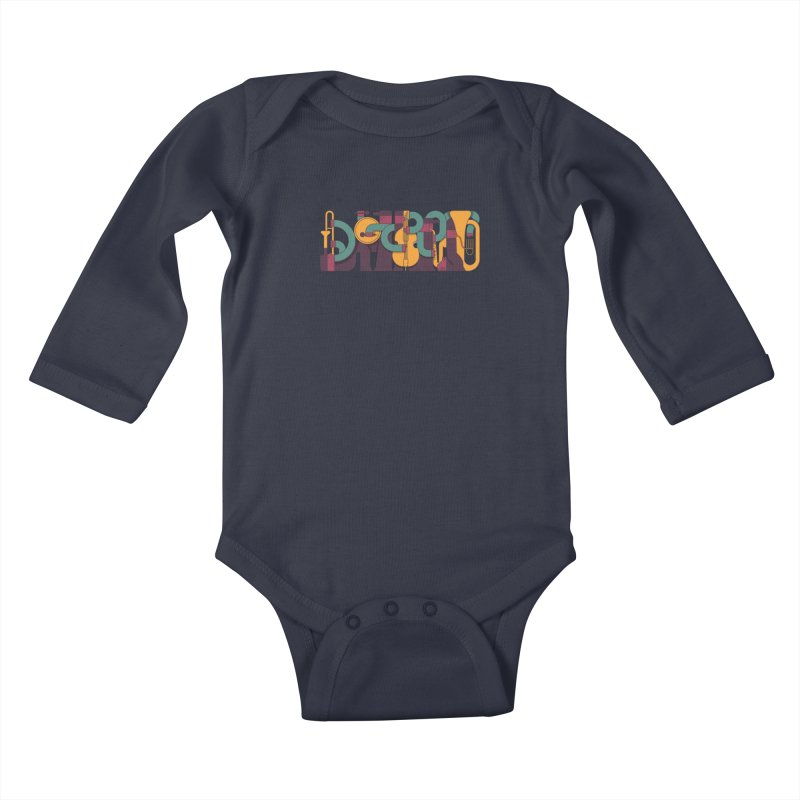 Jazzmatazz Kids Baby Longsleeve Bodysuit by Emporio de Mutanthands