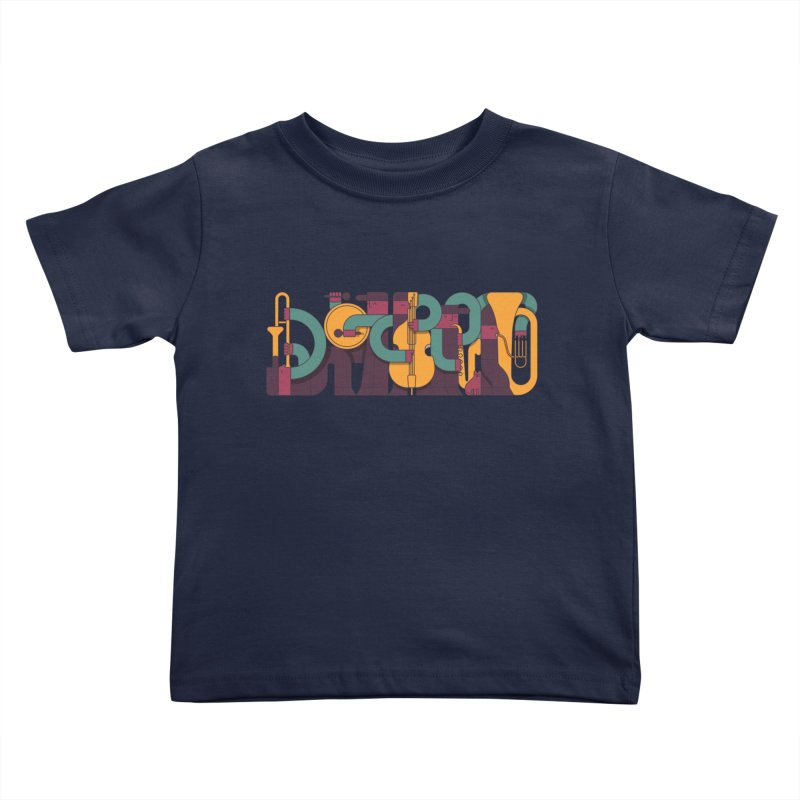 Jazzmatazz Kids Toddler T-Shirt by Emporio de Mutanthands