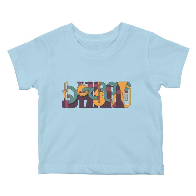 Jazzmatazz Kids Baby T-Shirt by Emporio de Mutanthands