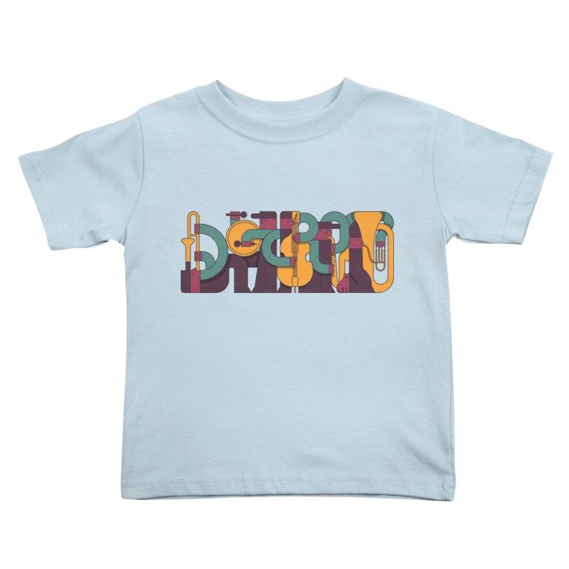 Jazzmatazz Kids Toddler T-Shirt by Emporio de Mutanthands