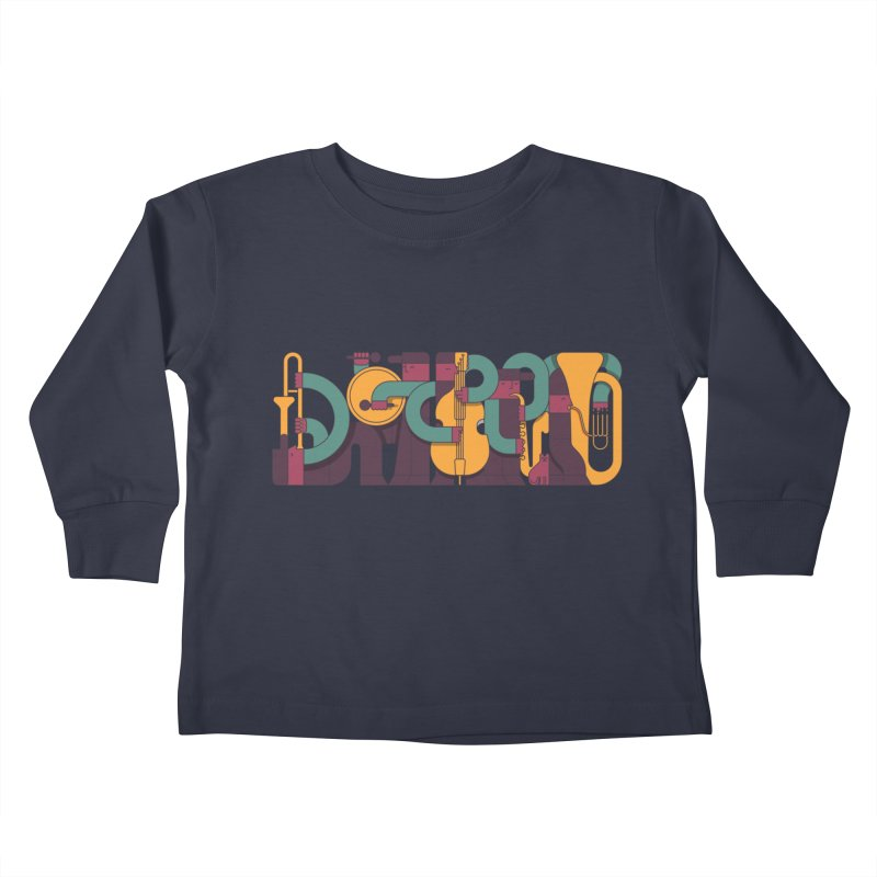 Jazzmatazz Kids Toddler Longsleeve T-Shirt by Emporio de Mutanthands
