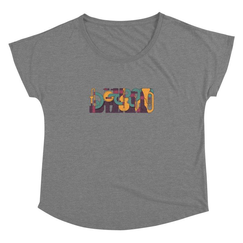 Jazzmatazz Women's Dolman Scoop Neck by Emporio de Mutanthands
