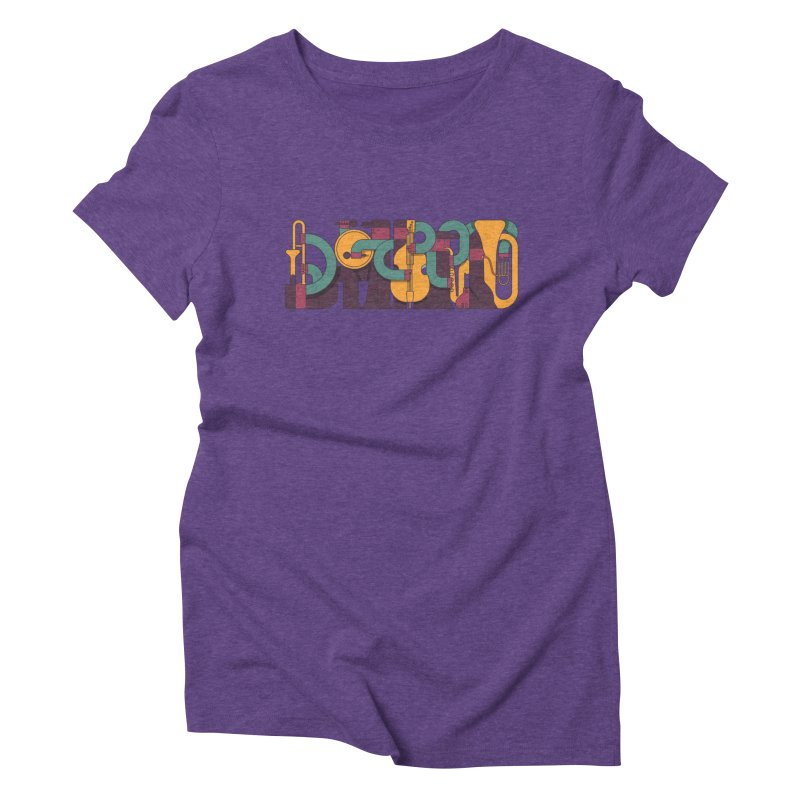 Jazzmatazz Women's Triblend T-Shirt by Emporio de Mutanthands