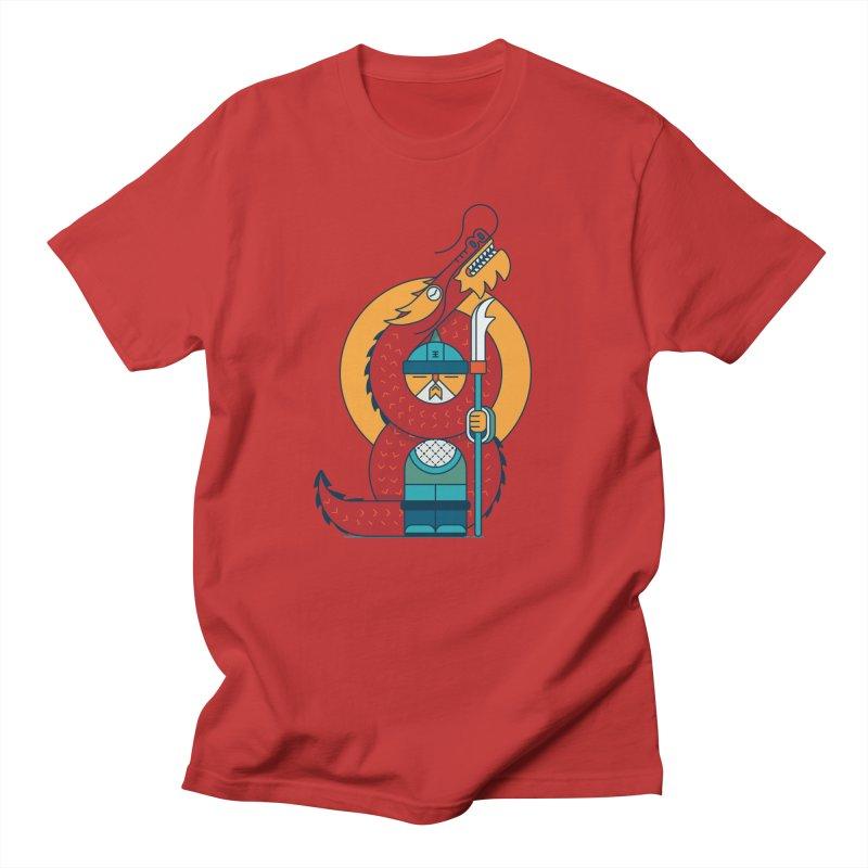 Dragon Warrior Men's T-Shirt by Emporio de Mutanthands