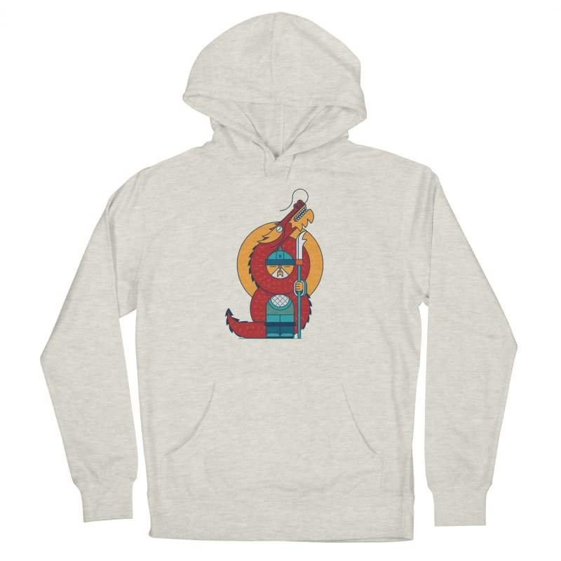 Dragon Warrior Men's Pullover Hoody by Emporio de Mutanthands