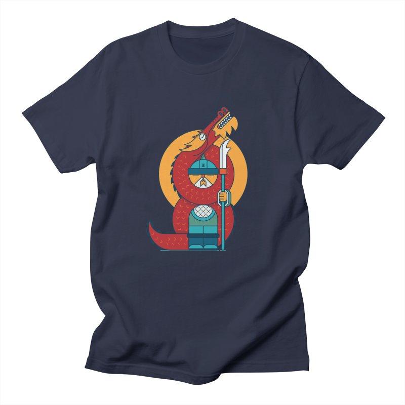 Dragon Warrior Women's Regular Unisex T-Shirt by Emporio de Mutanthands