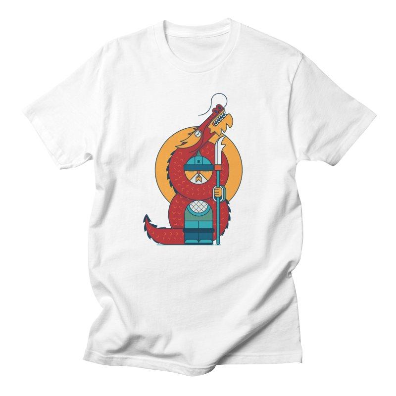 Dragon Warrior Men's Regular T-Shirt by Emporio de Mutanthands