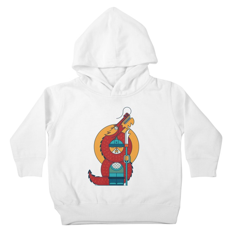 Dragon Warrior Kids Toddler Pullover Hoody by Emporio de Mutanthands