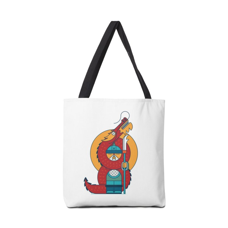 Dragon Warrior Accessories Tote Bag Bag by Emporio de Mutanthands