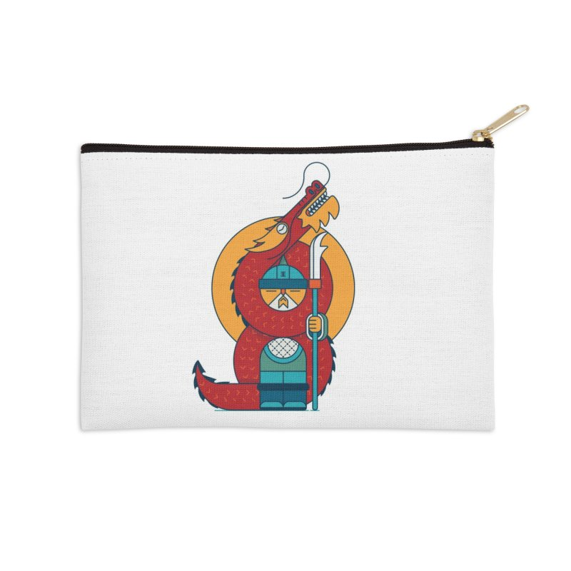 Dragon Warrior Accessories Zip Pouch by Emporio de Mutanthands