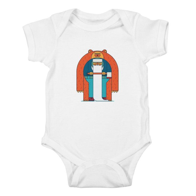 Lumberjack Kids Baby Bodysuit by Emporio de Mutanthands