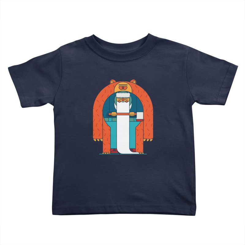 Lumberjack Kids Toddler T-Shirt by Emporio de Mutanthands