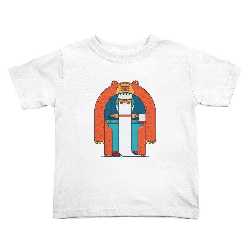 Lumberjack Kids Toddler T-Shirt by Emporio de Mutanthands