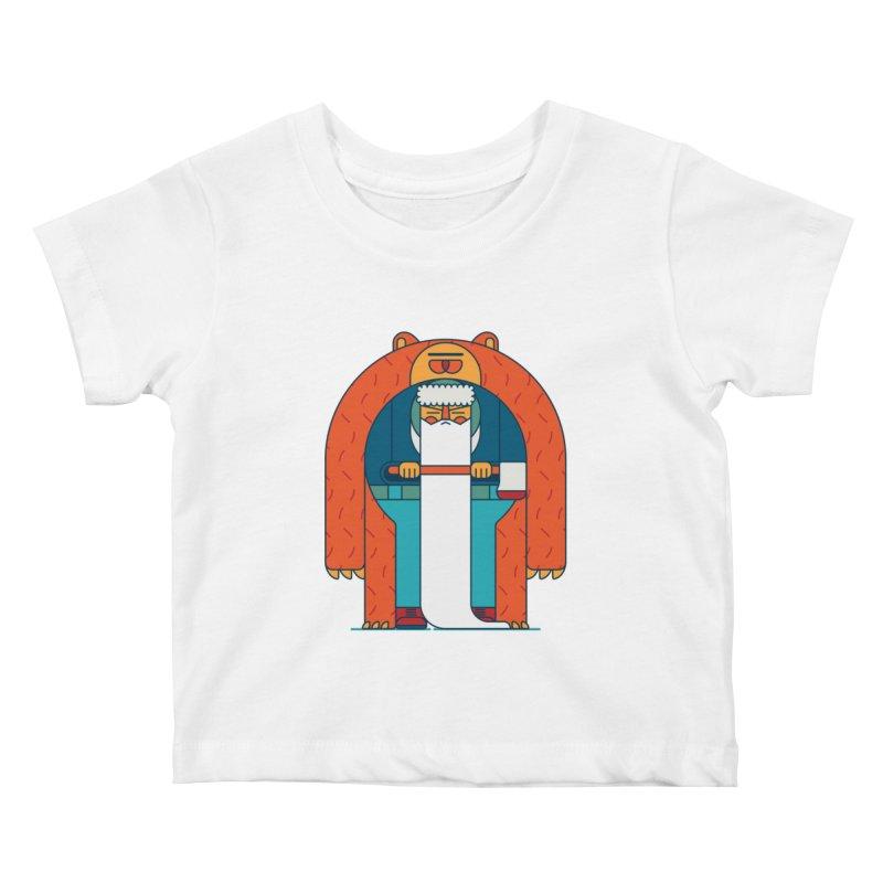 Lumberjack Kids Baby T-Shirt by Emporio de Mutanthands