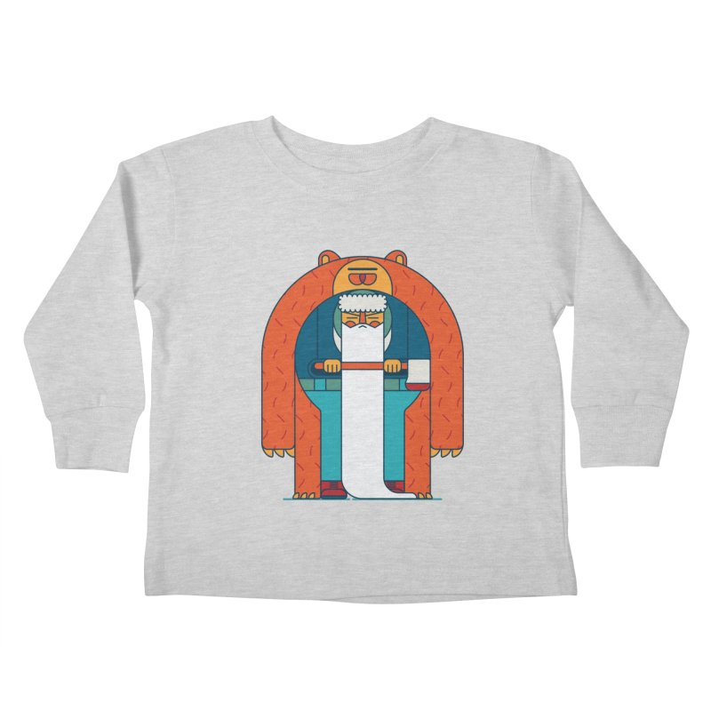 Lumberjack Kids Toddler Longsleeve T-Shirt by Emporio de Mutanthands