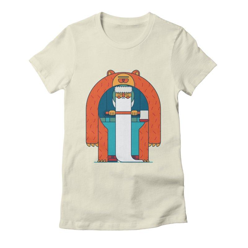 Lumberjack Women's Fitted T-Shirt by Emporio de Mutanthands