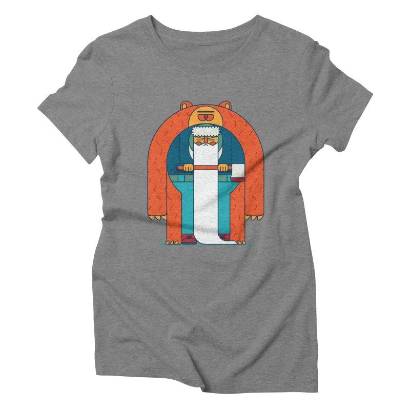 Lumberjack Women's Triblend T-Shirt by Emporio de Mutanthands