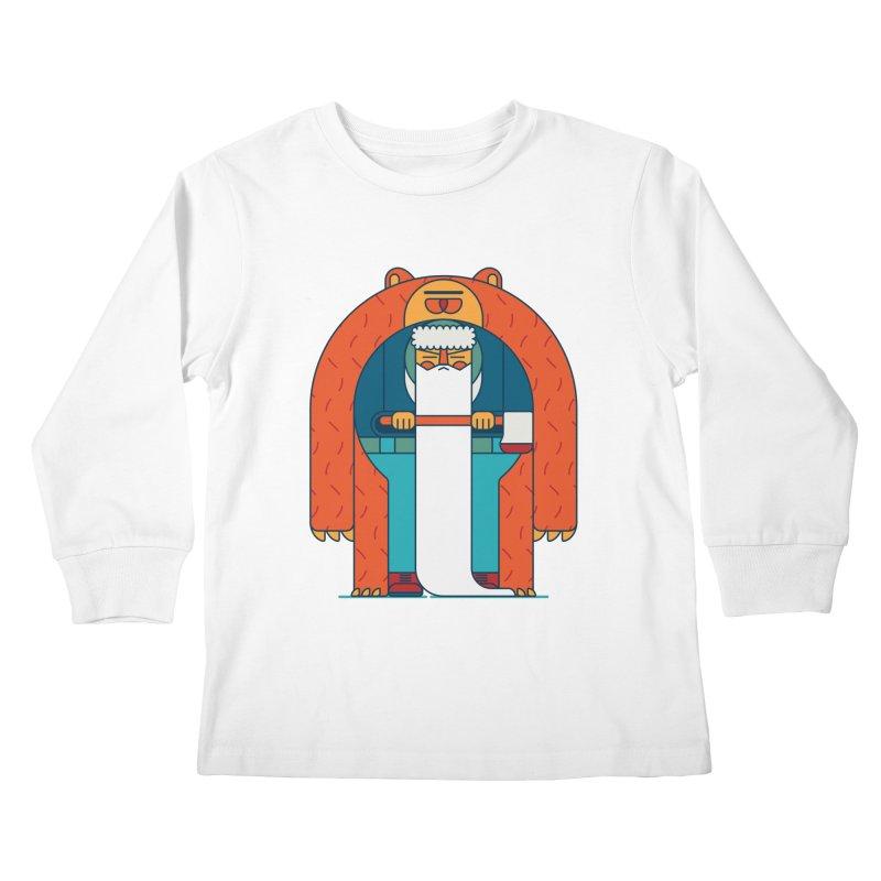 Lumberjack Kids Longsleeve T-Shirt by Emporio de Mutanthands