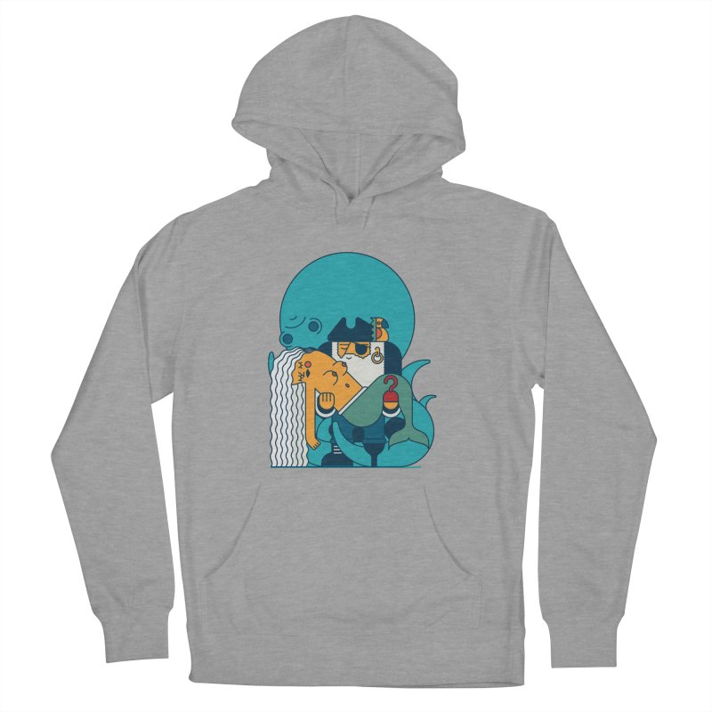 Pirate Women's French Terry Pullover Hoody by Emporio de Mutanthands