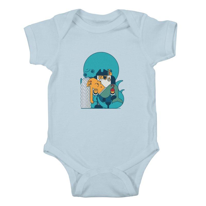 Pirate Kids Baby Bodysuit by Emporio de Mutanthands