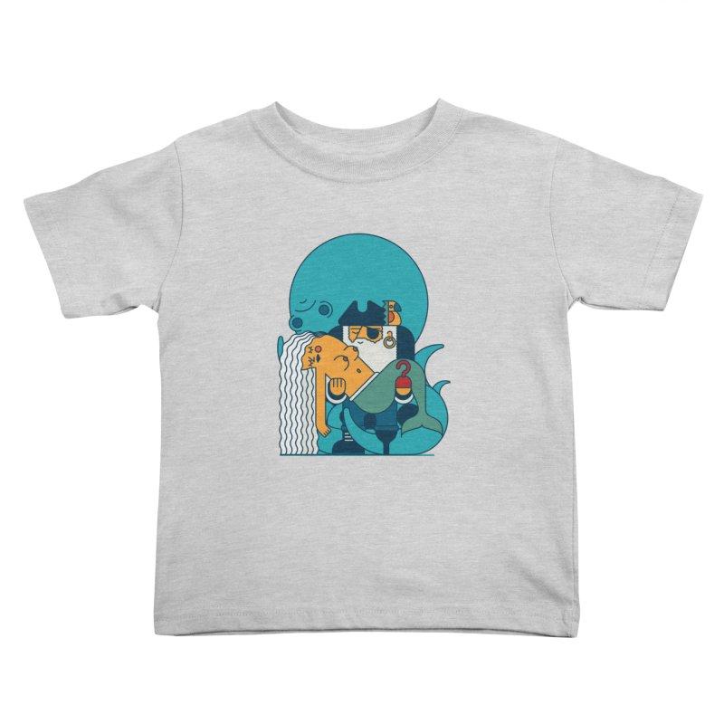 Pirate Kids Toddler T-Shirt by Emporio de Mutanthands