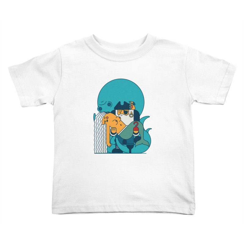 Pirate Kids Toddler T-Shirt by Emporio de Mutanthands