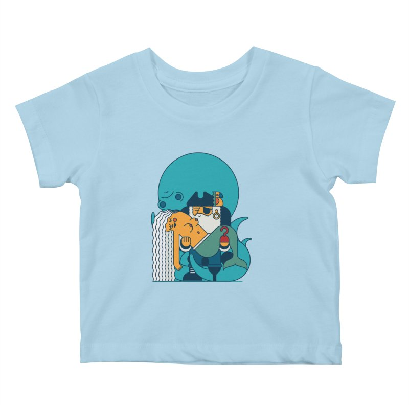 Pirate Kids Baby T-Shirt by Emporio de Mutanthands