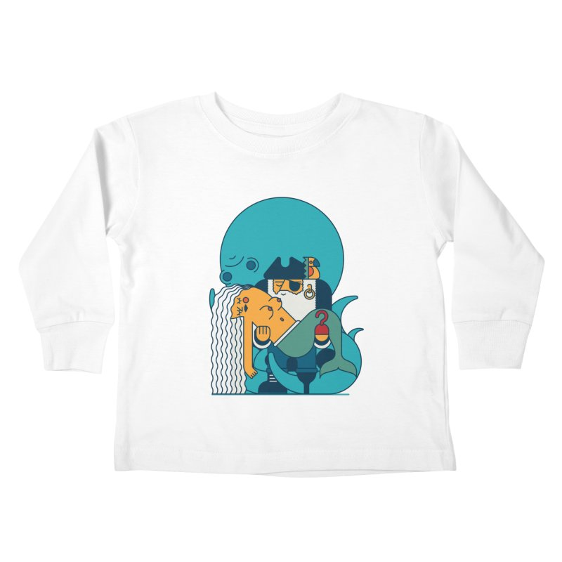 Pirate Kids Toddler Longsleeve T-Shirt by Emporio de Mutanthands