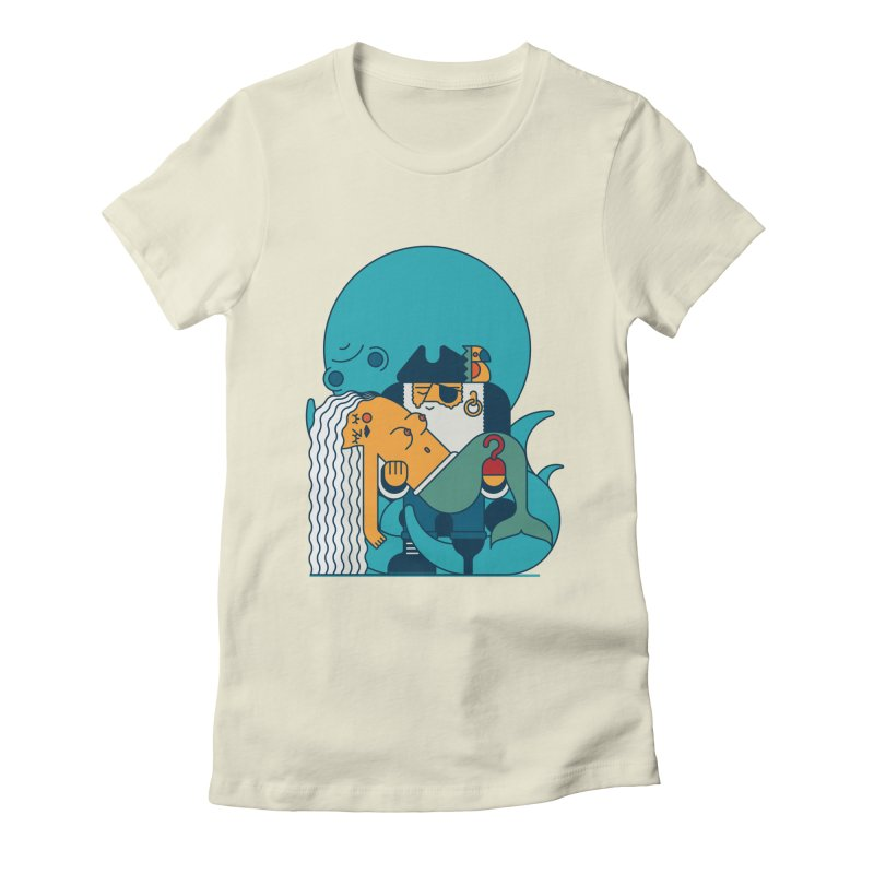 Pirate Women's Fitted T-Shirt by Emporio de Mutanthands