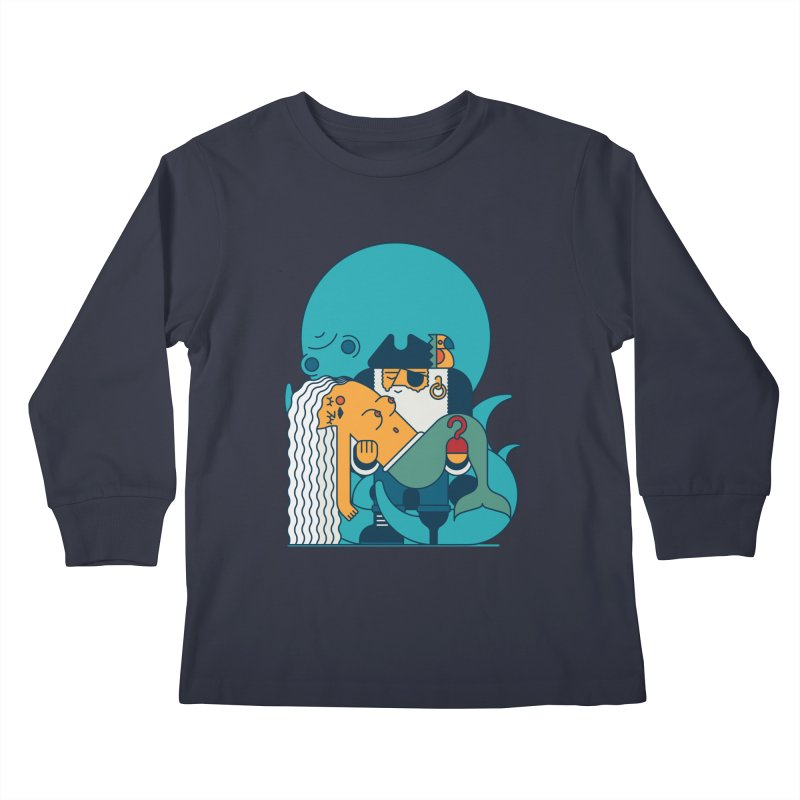 Pirate Kids Longsleeve T-Shirt by Emporio de Mutanthands