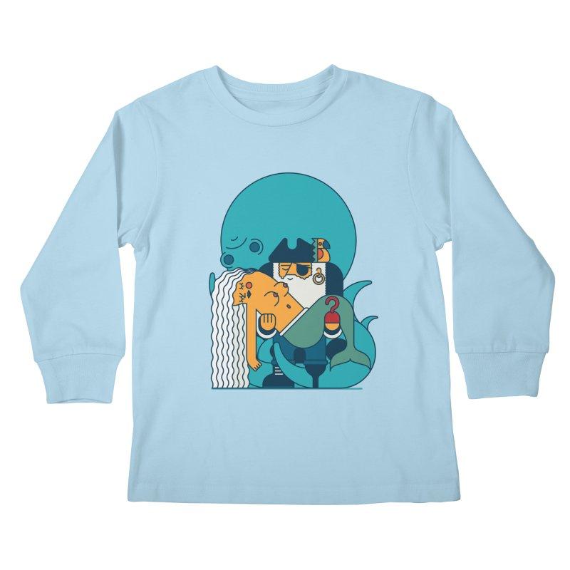 Pirate Kids Longsleeve T-Shirt by Emporio de Mutanthands
