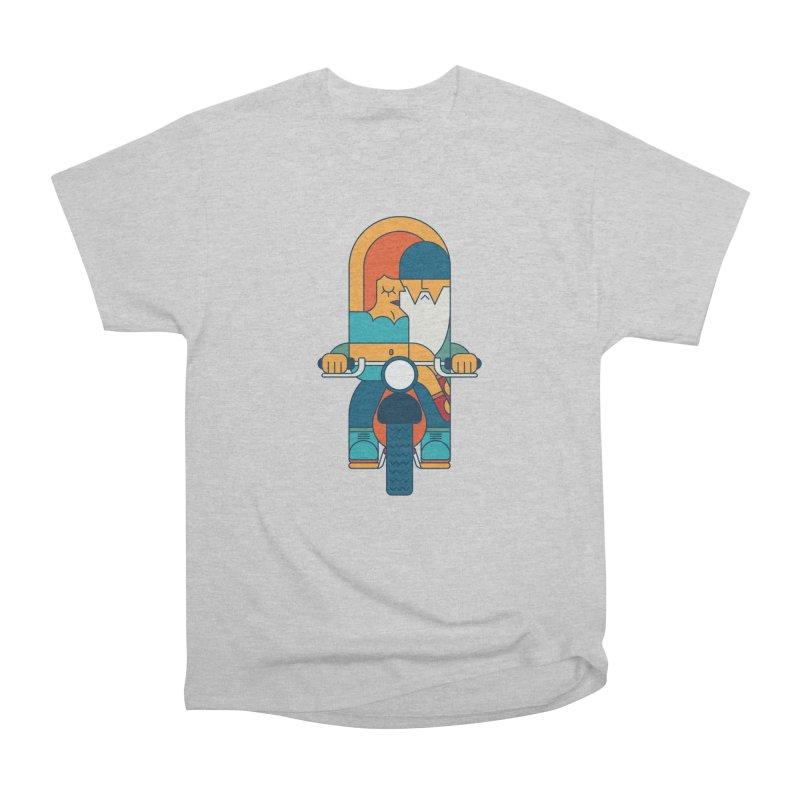SleezyRider Men's Heavyweight T-Shirt by Emporio de Mutanthands
