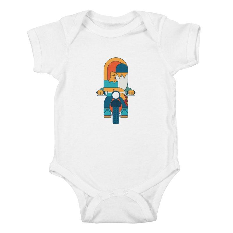SleezyRider Kids Baby Bodysuit by Emporio de Mutanthands
