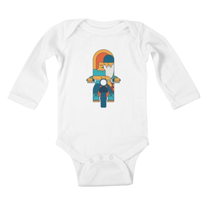 SleezyRider Kids Baby Longsleeve Bodysuit by Emporio de Mutanthands