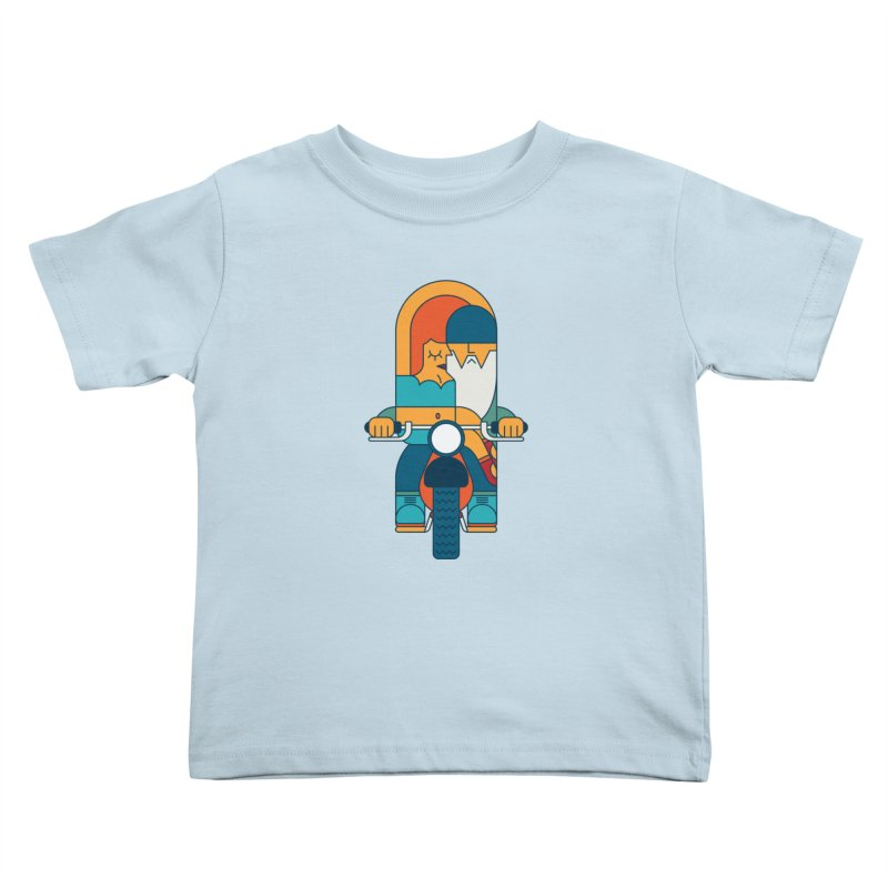 SleezyRider Kids Toddler T-Shirt by Emporio de Mutanthands