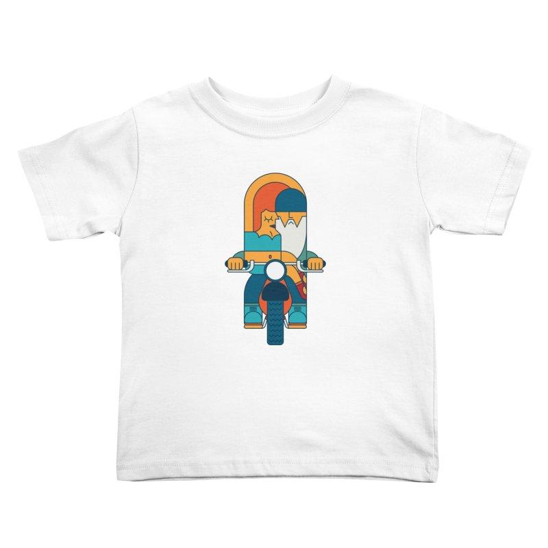 SleezyRider Kids Toddler T-Shirt by Emporio de Mutanthands