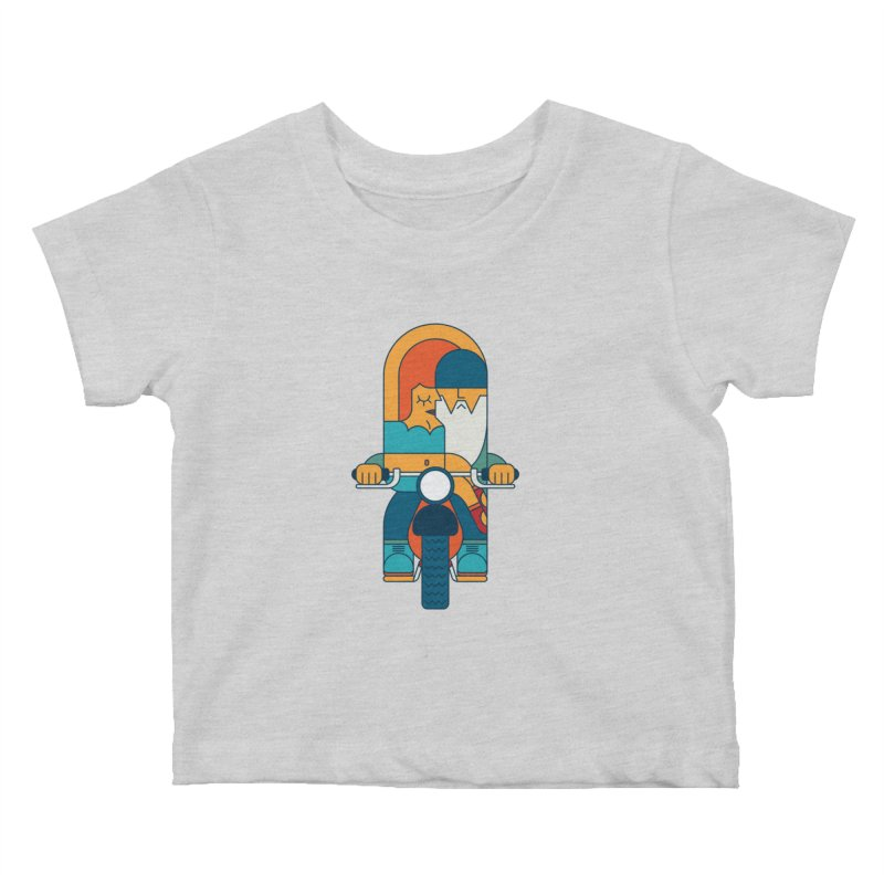 SleezyRider Kids Baby T-Shirt by Emporio de Mutanthands