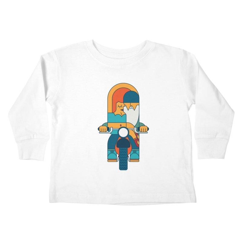 SleezyRider Kids Toddler Longsleeve T-Shirt by Emporio de Mutanthands