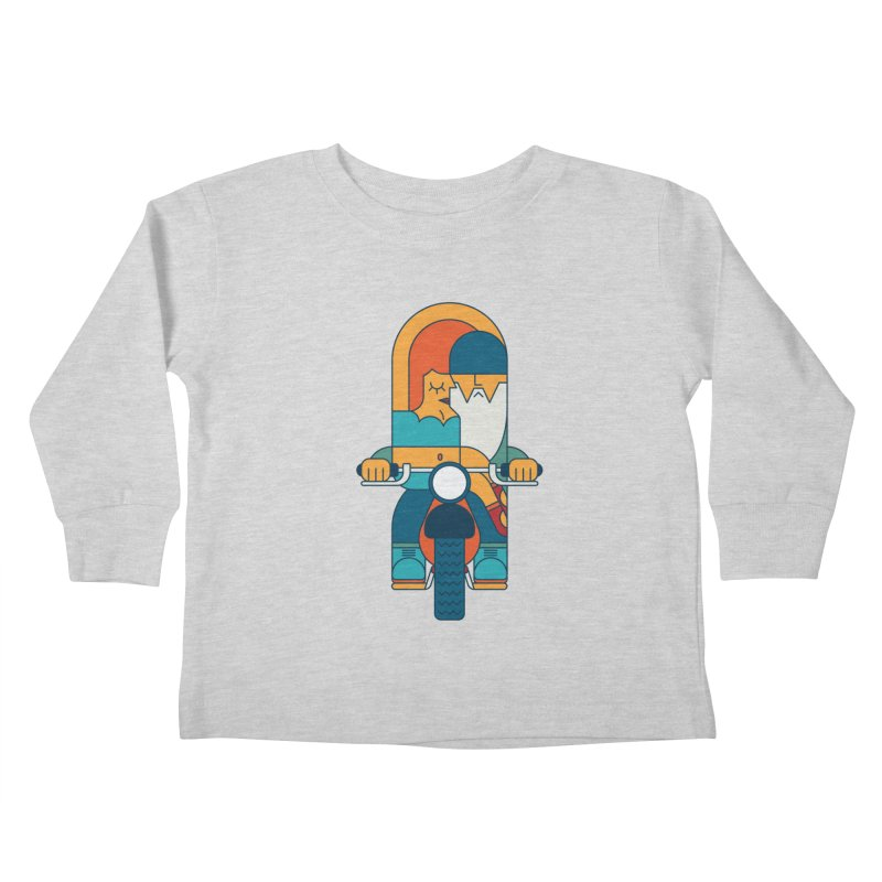 SleezyRider Kids Toddler Longsleeve T-Shirt by Emporio de Mutanthands