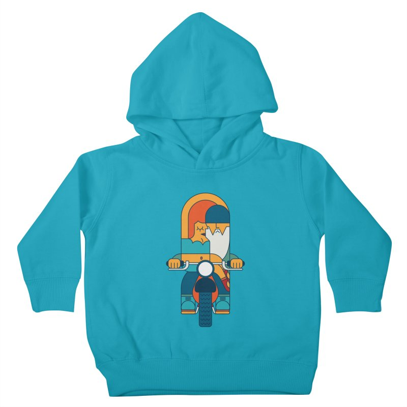 SleezyRider Kids Toddler Pullover Hoody by Emporio de Mutanthands